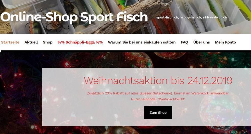 Online Shop Sport Fisch